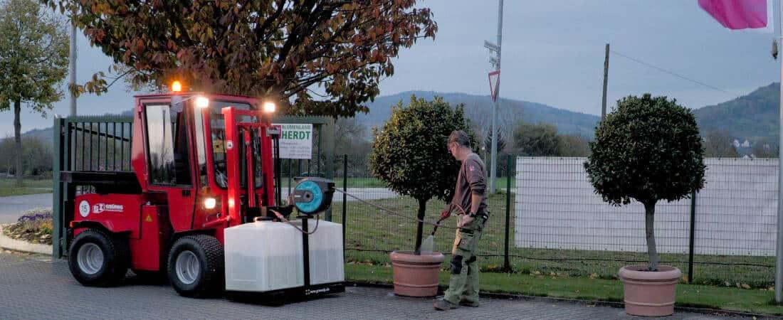 Bewässerungssystem Uni-Truck