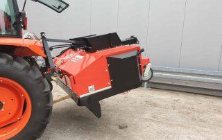 Kehrmaschine für Traktor