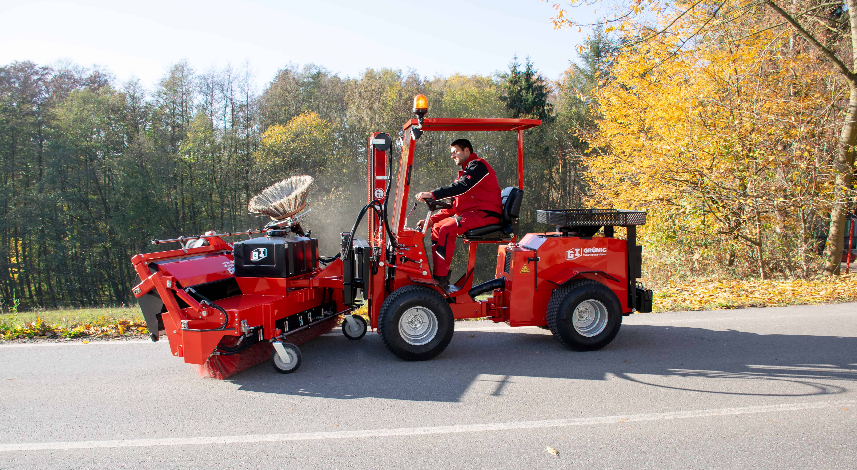 GSO Plus 200 im freikehrenden Einsatz