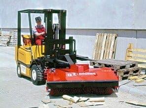 GSW GSO 1500 Kehrmaschine