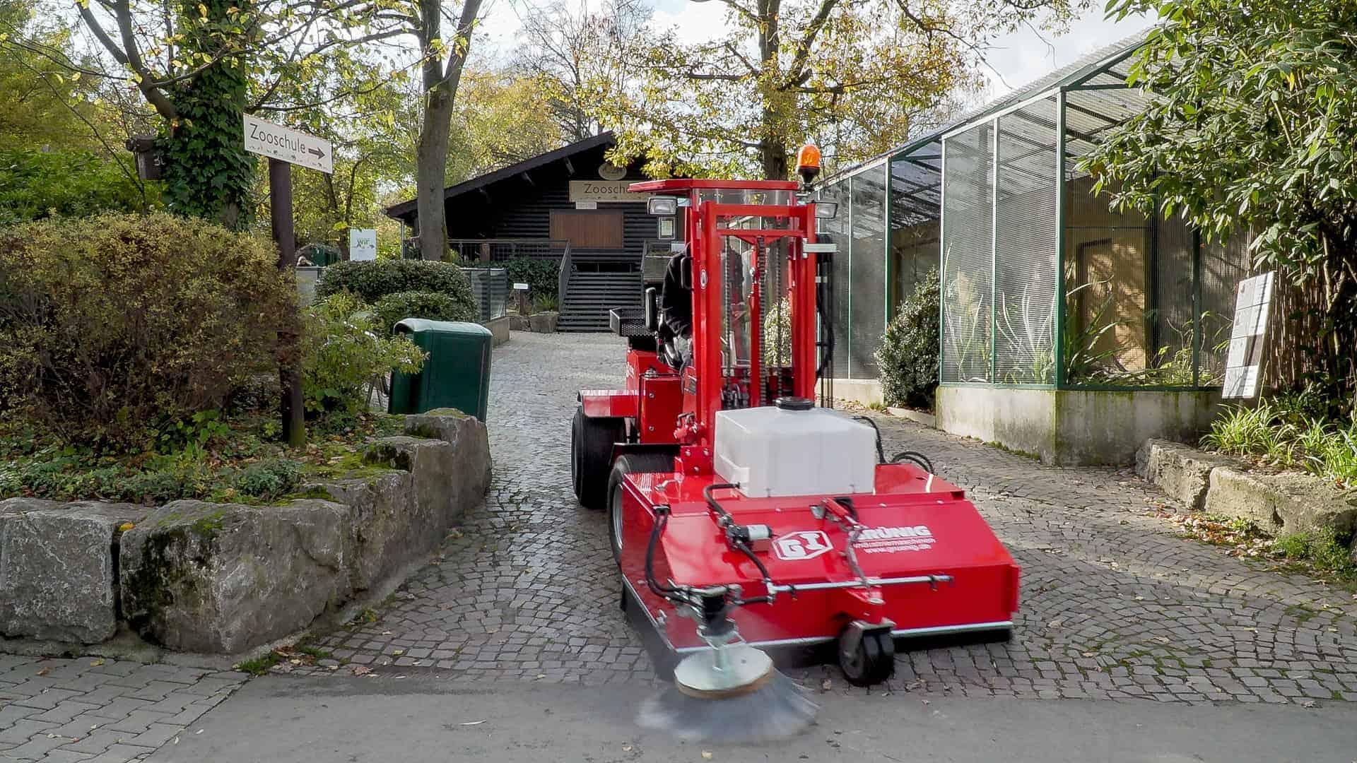 Uni-Truck Grundgerät 4 W 1005 / 1200 kg