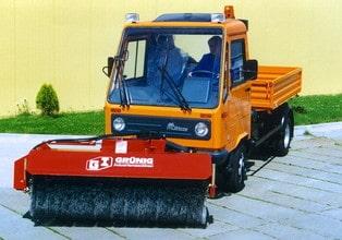 Kehrmaschine Multicar