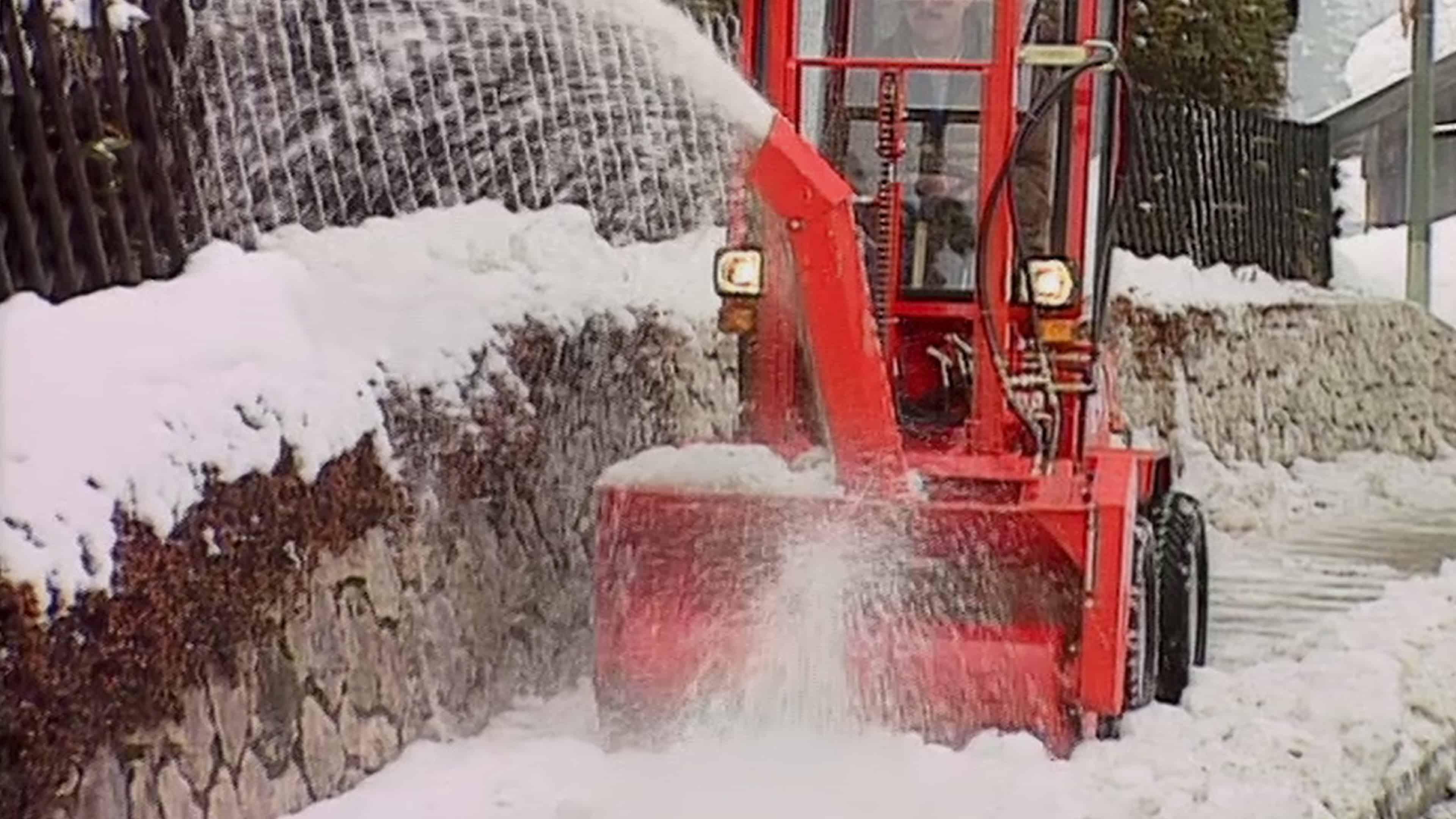 Schneefräse Uni-Truck