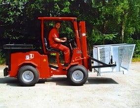Uni-Truck Gittercontainer