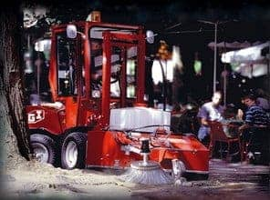 Uni-Truck Kehrmaschine