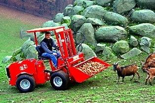 Uni-Truck Schaufel Tierpark