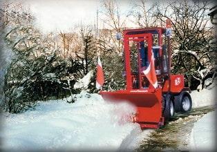 Uni-Truck Schneeschild