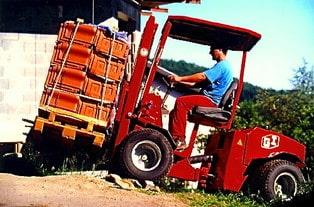 Uni-Truck Staplerdachziegel