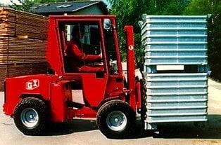 Uni-Truck Stapler Metallcontainer