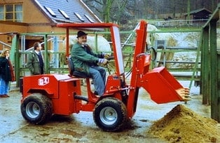 Uni-Truck Schaufel