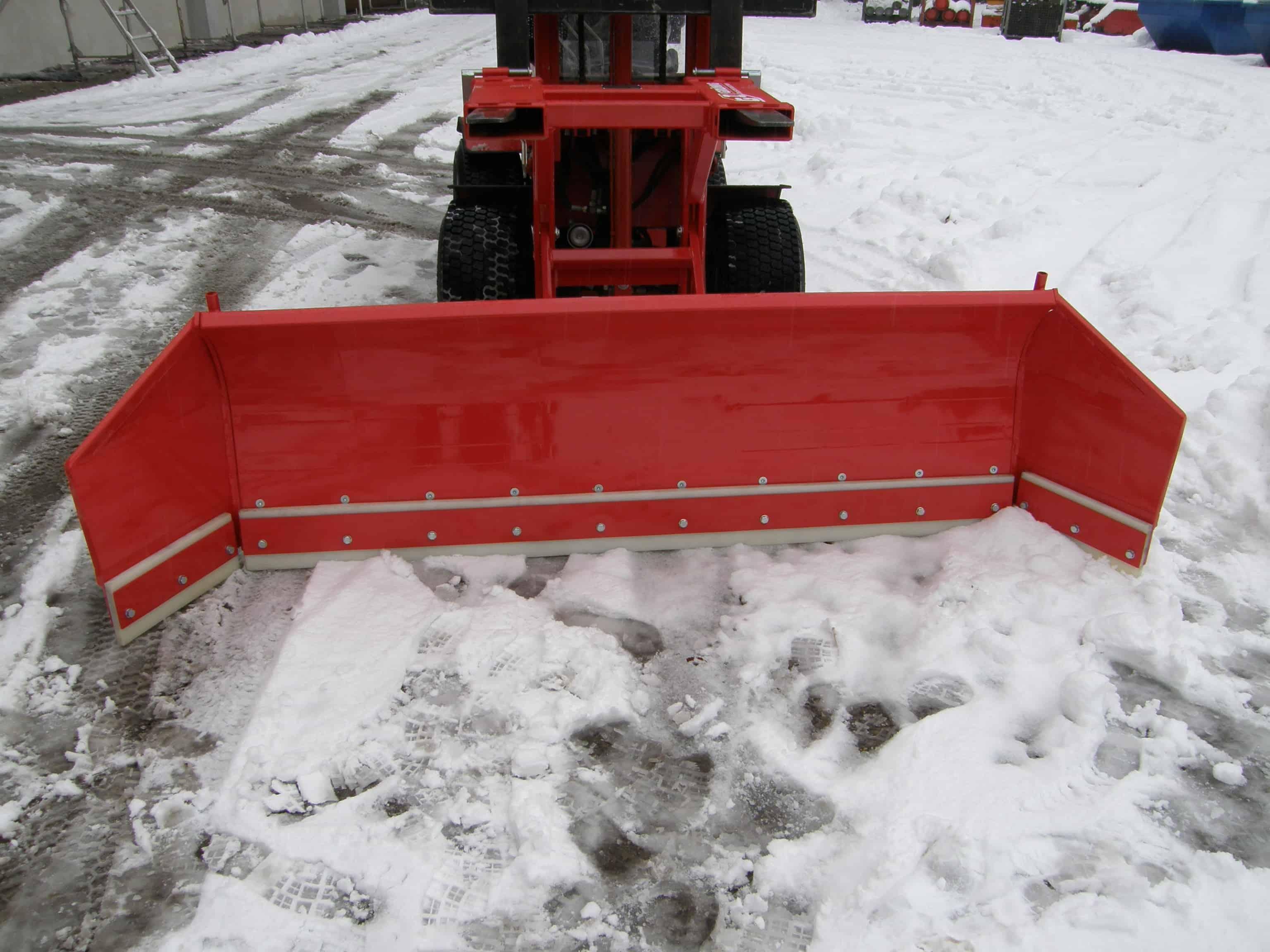 Grünig Industriemaschinen Schneeräumschild