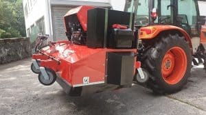 Beispiel für Anbaukehrmaschine